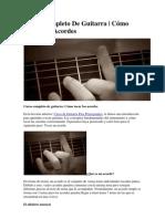 Curso Completo de Guitarra