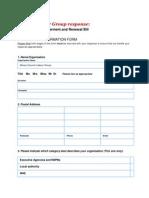 Moray Labour Community Engagement Response