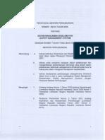 Thn 2009 - KM 20 Sistem Manajemen Keselamatan