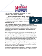 McDonald Statement 9-27