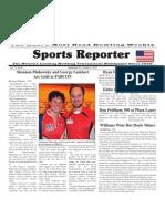 September 26 - October 2, 2012 Sports Reporter