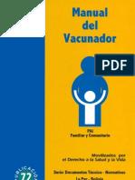 Manual Del Vacunador Pai