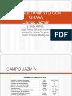 Empaquetamiento Con Grava Campo Jazmin