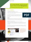 Metadata, Content Models, and Taxonomies