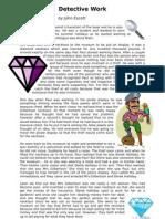 Detective Work Summary