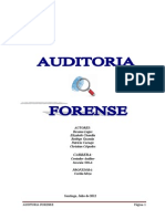 Auditoria Forence III