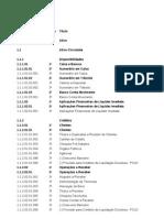 Plano de Contas - Transporte Intermunicipal de Passageiros Do Cear-i