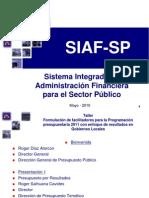 EL SIAF - SP