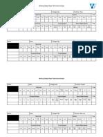 Player Performance Sheet