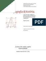 Tipografia & história (Naieni Ferraz) apresentação