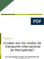Transporte Internacional y Seguros