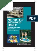 Airlaid Pulp Nonwoven Primer