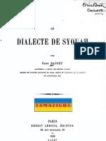 Le Dialecte de Syouah - René Basset