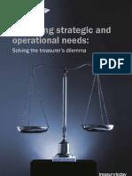 Balancing Strategic Operational Needs