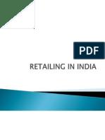 Retailing in India Ppt