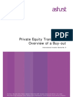 Privte equity Transactions