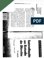 Introdução ao Estudo do Direito - Orlando de Almeida Secco 7ª Edição