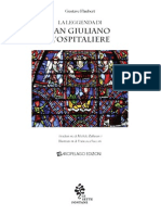 Gustave Flaubert- La Leggenda Di San Giuliano l'Ospitaliere - (1877) - Parte Prima -Illustrato da Francesca Sacconi - Traduzione Di Michele Zaffarano