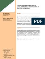 Texto Supralegalidade Dos Tratados Internacionais (1)