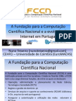 A FCCN e a evolução da Internet em Portugal
