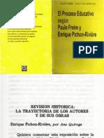 Enrique Pichon Riviere Por Ana Quiroga