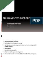 Teoría microeconómica - Servicios Públicos