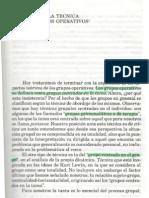 Historia de la técnica de los grupos operativos por Enrique Pichón-Riviére