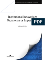 Institutional Innovation