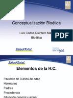 Conceptualizacion Bioetica