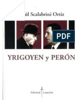 Yrigoyen y Peron - Raúl Scalabrini Ortiz