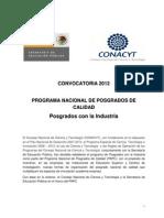 00 Convocatoria Posgrados Industria-2012
