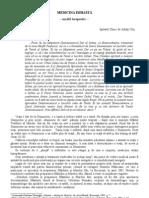 Medicina Isihasta - Model Terapeutic