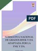 Norma Examen RFEK Adap FNK 091212