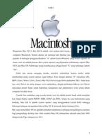 Sejarah Macintosh Operating System