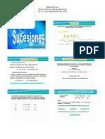 Matemáticas I diapositivas sucesiones