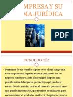 LA EMPRESA Y SU FORMA JURÍDICA