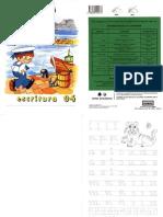 Caligrafía Rubio Escritura 04 (educación infantil)