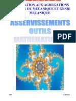asservissements outils mathematiques