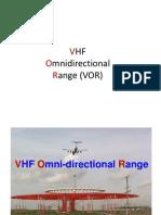 VHF Omni Range