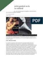 La explotación genital en la maquinaria cultural