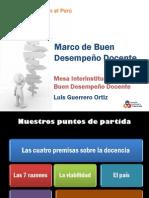 Marco Buen Desempeño DocentePONENCIA_Luis_Guerrero