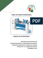 Manual Del Participante Torno Convencional