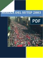 El Diario de La Huelga Del Sutep