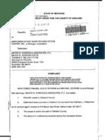 Narconon Lawsuit Schram v Narconon Stone Hawk 2004 Complaint