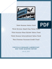 TAF 3Q 2012 Report and Shareholder Letters
