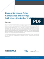 Winshuttle EasingSOXCompliance Whitepaper En