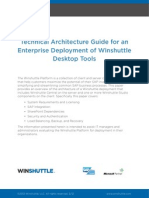 Winshuttle Technical Architecture Guide Winshuttle Desktop Tools Whitepaper En