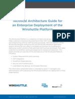 Winshuttle Technical Architecture Guide Winshuttle Platform Whitepaper En