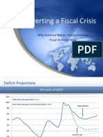 Averting a Fiscal Crisis - Why America Needs Comprehensive Fiscal Reform Now 0 0 0 0 0 0 0