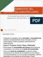 Fundamentos Del Marketing Agropecuario